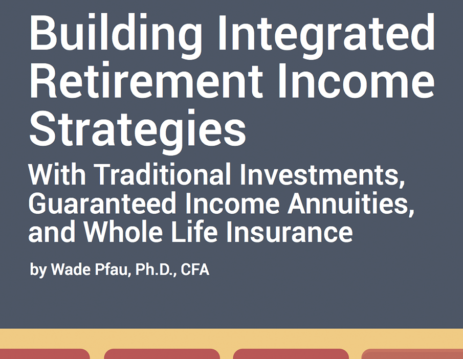 Retirement Planning White<br> Paper by Wade Pfau
